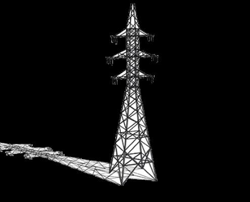 воздушные линии  электропередач
